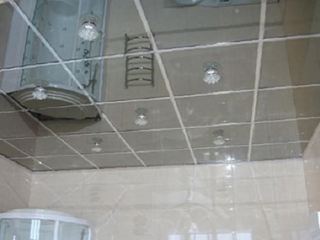 потолок типа армстронг зеркальный