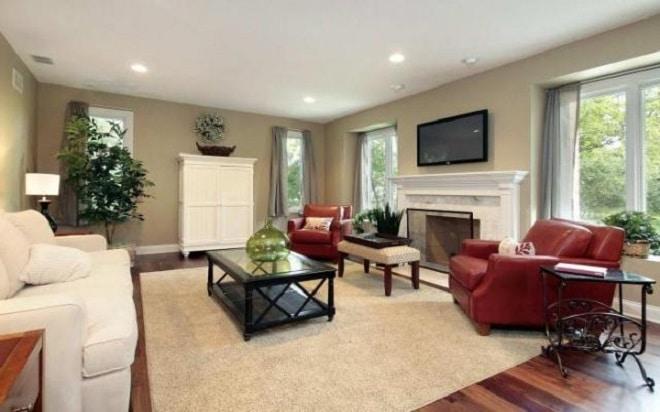Чем отделать низкий потолок в частном доме
