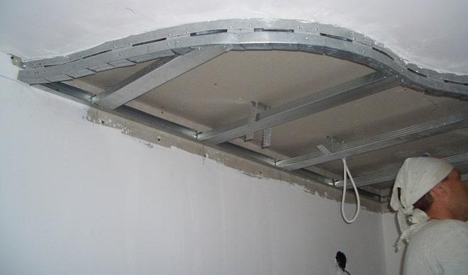 Особенности монтажа двухуровневого потолка своими руками