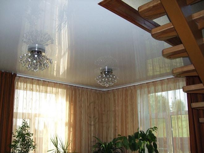 Подвесные и натяжные потолки