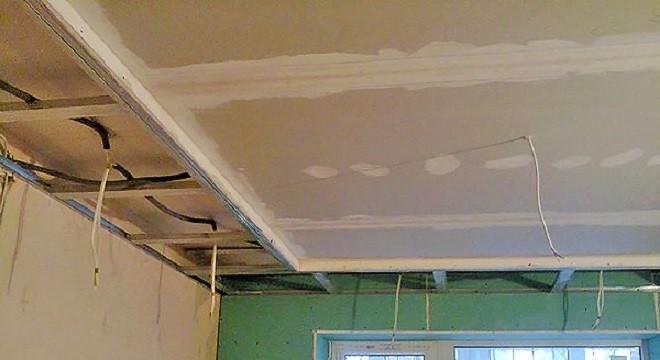 Пошаговая инструкция по монтажу потолка из гипсокартона