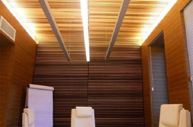 Виды реечного потолка