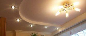 Монтаж подвесного потолка из гипсокартона своими руками - пошаговая инструкция