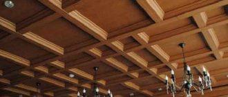 Деревянные потолки, необычные идеи с фото