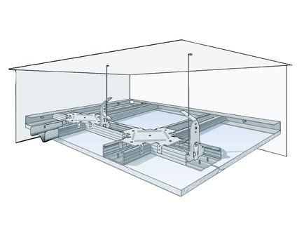 Система Кнауф потолки из гипсокартона П 112