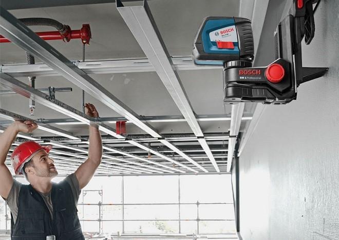 Разметка потолочного пространства