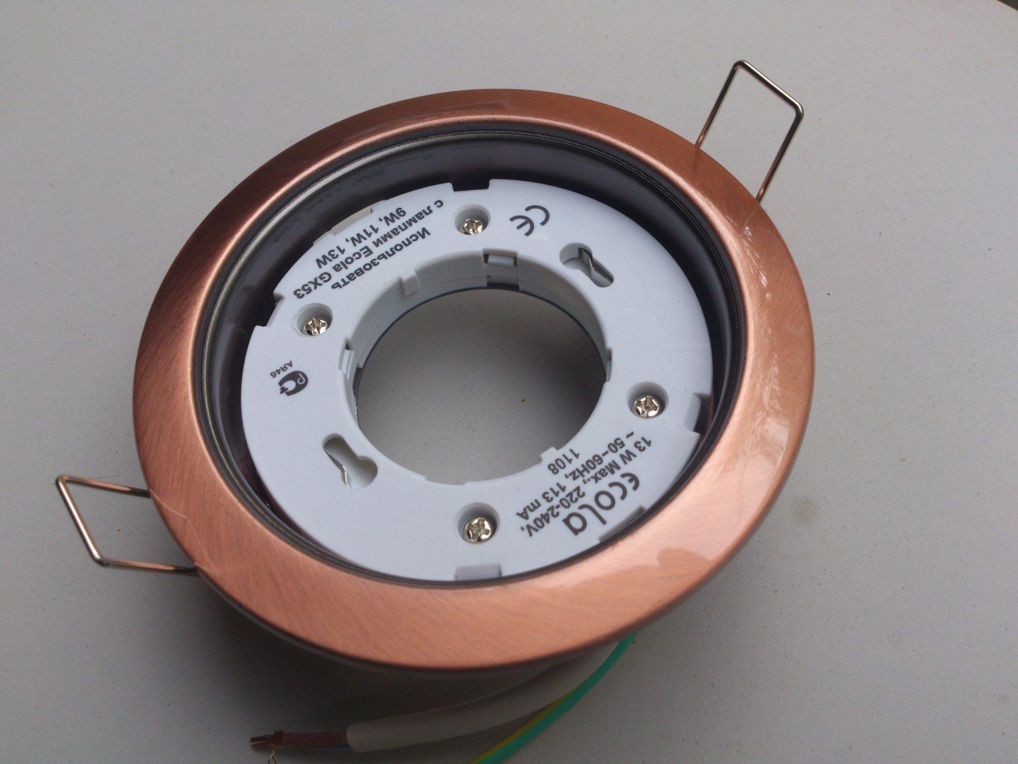 GX53 светильник для натяжных потолков и что нужно о нем знать