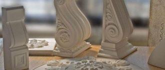 Лепнина из полиуретана применение при ремонте потолков