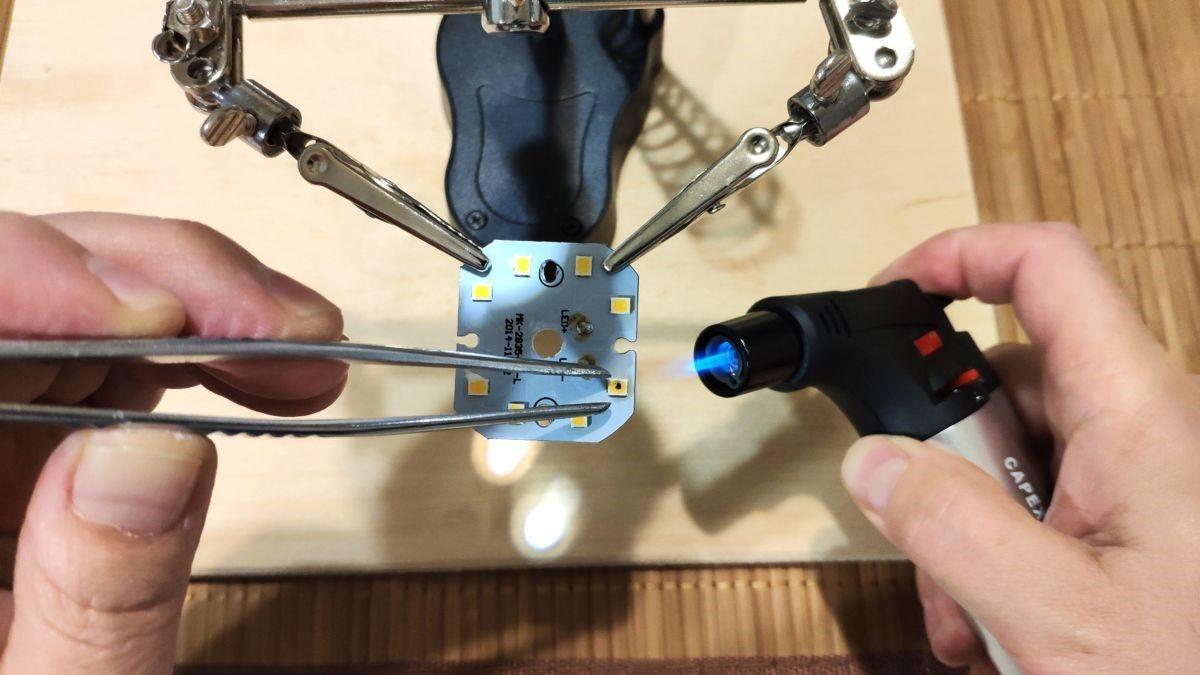 светодиодных ламп пошаговая инструкция