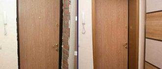 Откосы входной двери как сделать их самому, быстро и правильно
