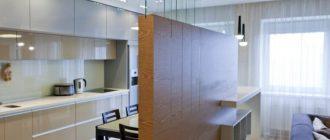 Перегородки в квартире студии – виды и преимущества. Как выполнить зонирование квартиры студии