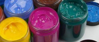 Все об акриловых красках: изготовление, происхождение, сфера использования. Какой бывает акриловая краска и как ее выбрать