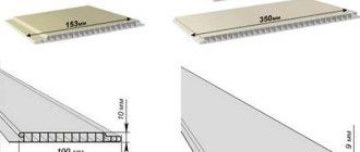 Какие размеры панелей ПВХ бывают? Панели ПВХ: размеры и виды отделочных материалов