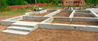 Фундамент под дом своими руками пошаговая инструкция