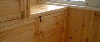 Шкаф на балконе своими руками - пошаговая инструкция с иллюстрациями