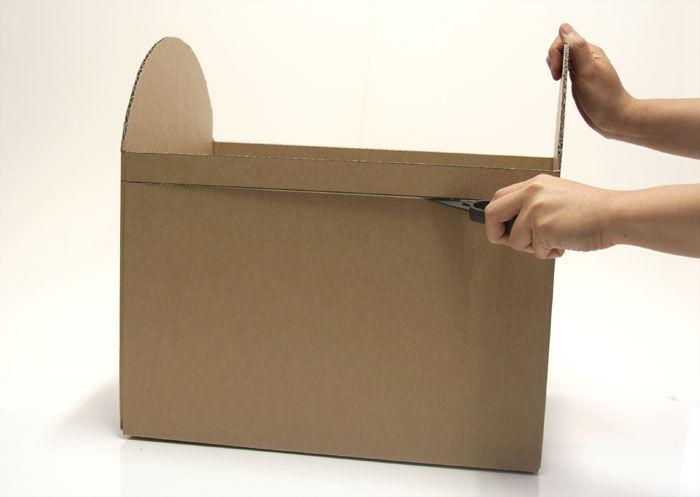 как сделать сундук из коробки своими руками (главный ключ)