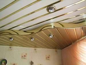 Как самим отделать потолок