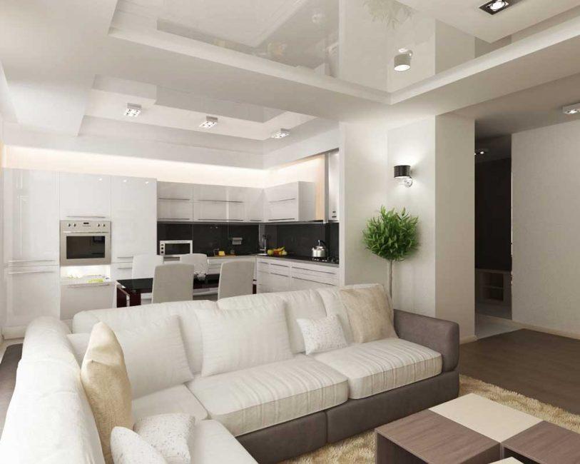 Можно использовать в жилых и общественных помещениях