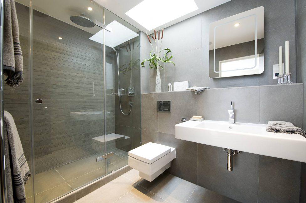 В интерьере ванной
