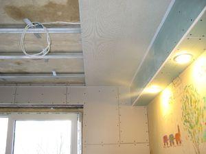Как монтировать панели на потолке