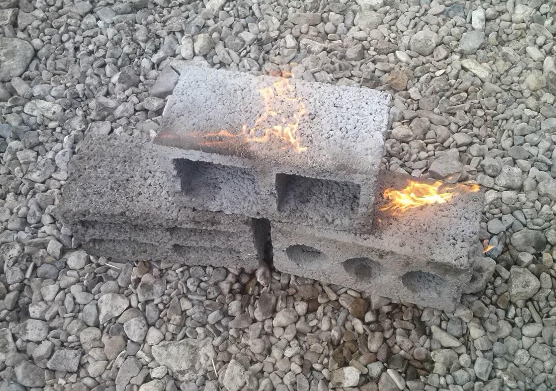 Огнестойкость керамзитовых блоков