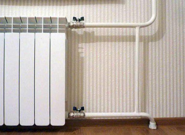 Подключение радиаторов отопления схемы обвязки монтаж батарей